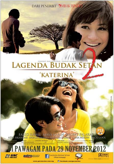 Poster Lagenda Budak Setan 2 Katerina