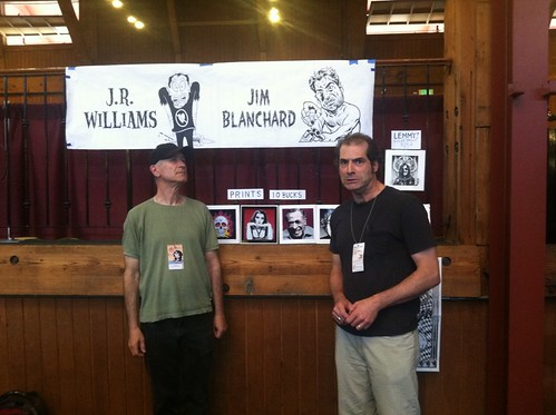 J.R. Williams & Jim Blanchard at APE 2012