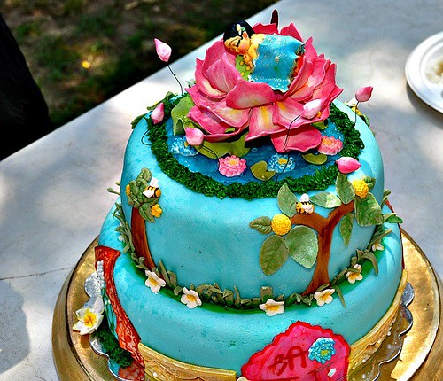 Lord Krishna Theme Cake Ideas and Designs