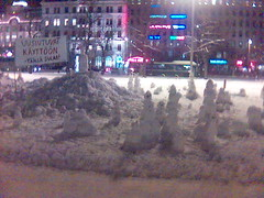 Snowman demonstration