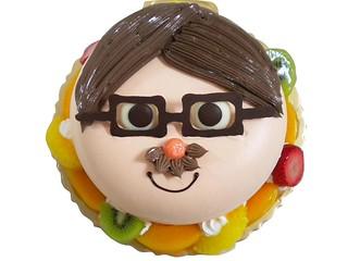 生日蛋糕 我愛爸爸