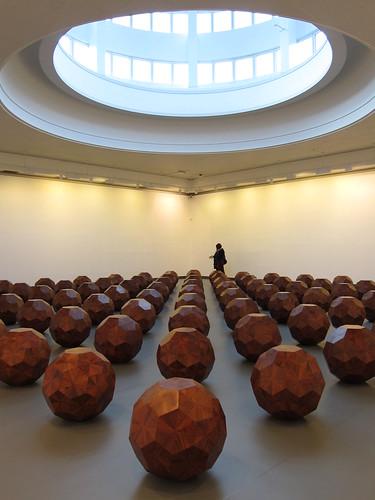 Ai Weiwei: 81 Wooden Balls