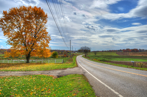 road autumn ohio sky fall clouds landscape geotagged nikon highway raw nef hdr photomatixpro cs5 d3s nikongp1 nikkor24120f4vr