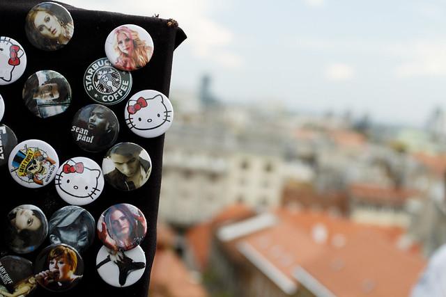 Zagreb badges / Croatia