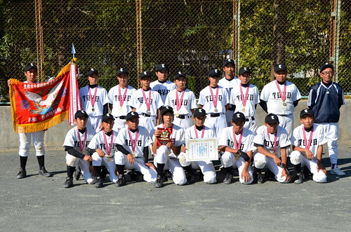 優勝 東陽クラブ 2012中学秋季大会