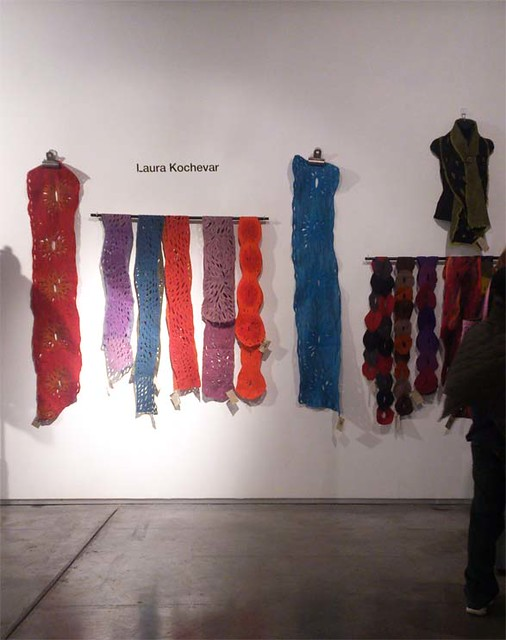 scarves by Laura Kochevar