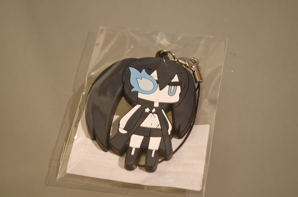 Black Rock Shooter phone strap