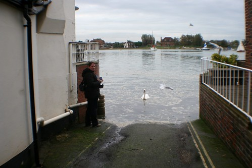 High Tide at Bosham, England