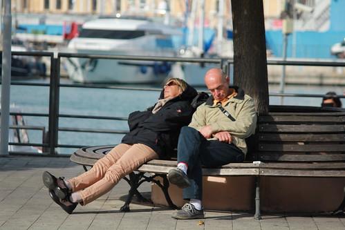 Porto di Genova: quando il sonno ha la meglio