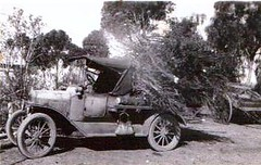 French Folland's first car 1931 T model 1915 Ford