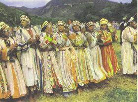 danseuses d'Ahouache d'Ourika