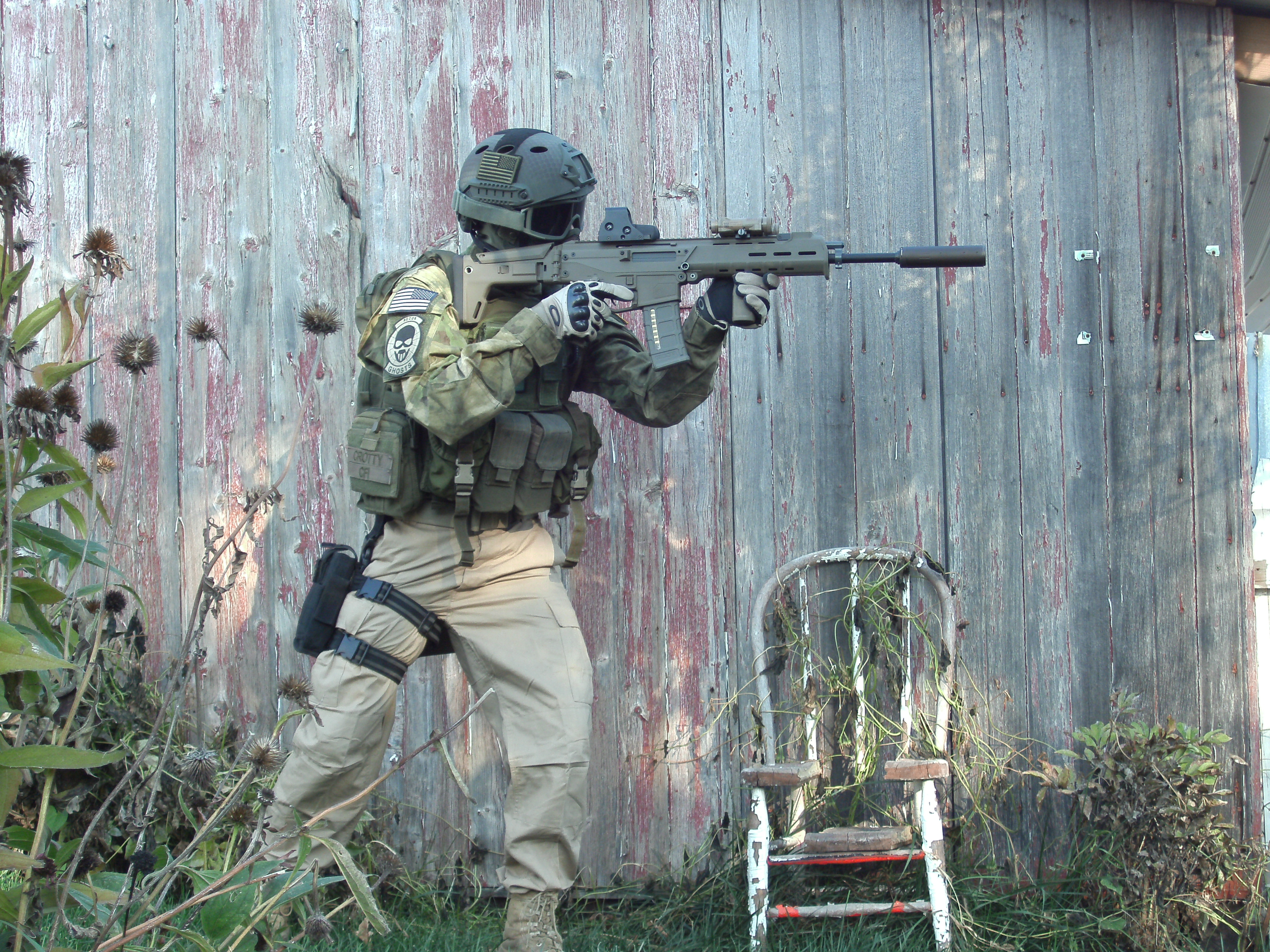 ghost recon future soldier inspired atacs fg loadout