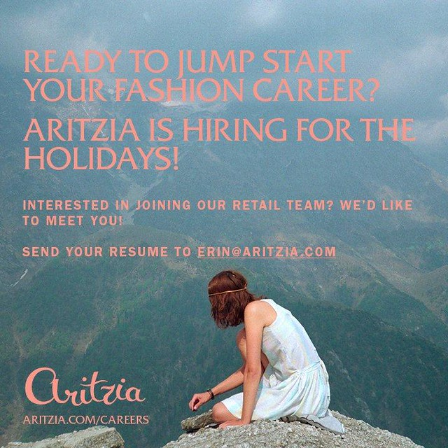 Holiday hiring_staff and bloggers