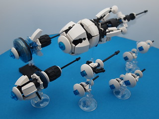 Trinity's Crux, Ijad battle fleet
