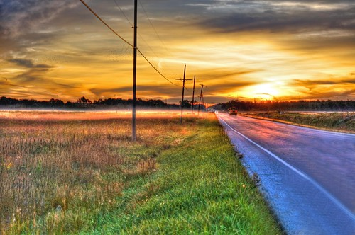 sunrise landscapes hdr
