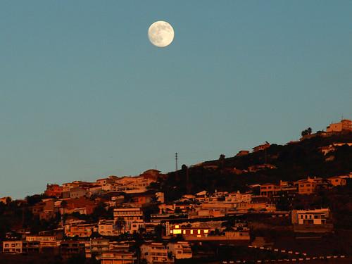 Moon above North Tenerife