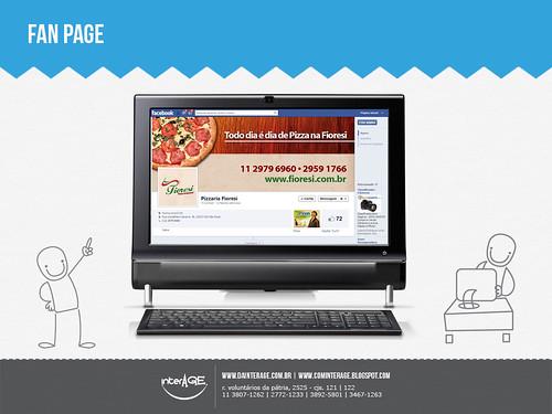 Banner Facebook Todo dia é dia de Pizza na Fioresi by InterAGE