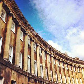 More Royal Crescent fabulousness :) #bath