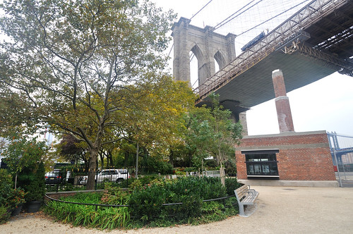 smokestack shack, Brooklyn Bridge Park