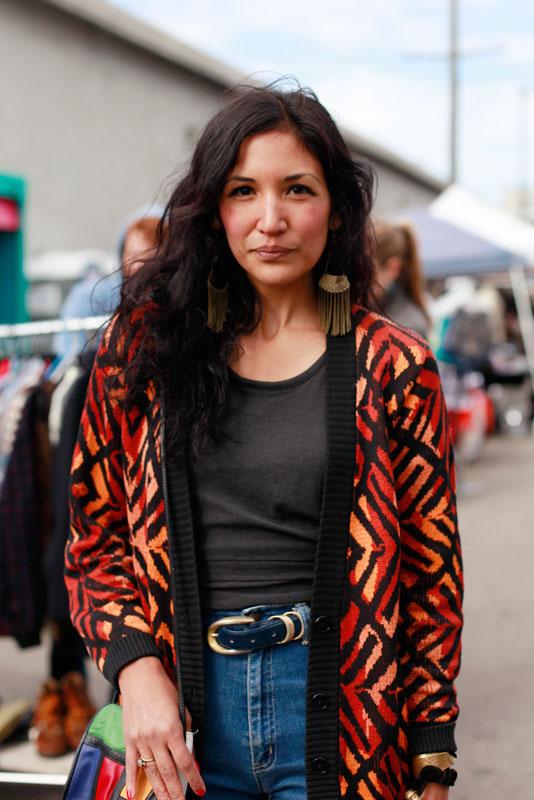 birdonwire_im12_closeup street style, street fashion, women, San Francisco, indie mart, Wisconsin Street