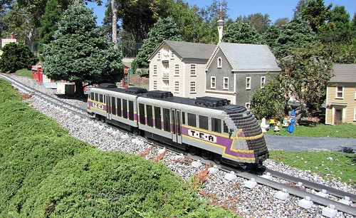 Train at Miniland New England