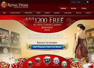 Royal Vegas Casino Home