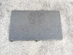 Photo of William IV bronze plaque