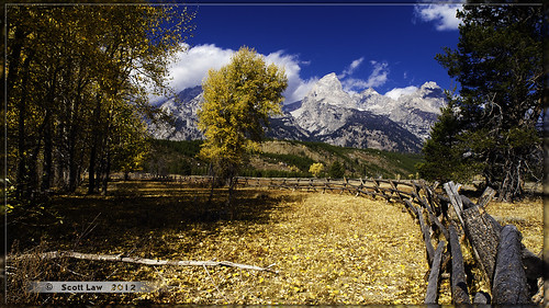 Teton View from Manges Ranch by Just Used Pixels