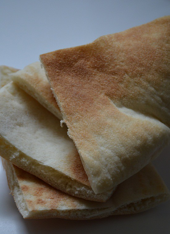 pita triangles