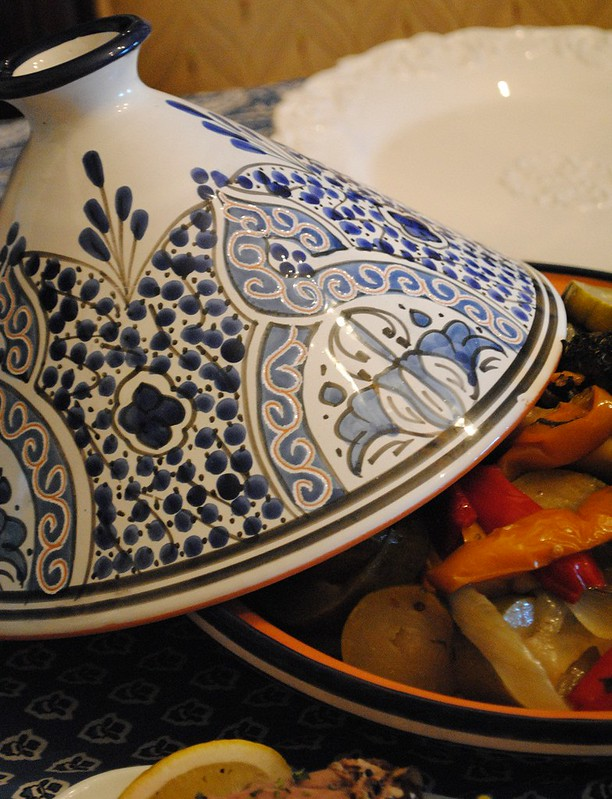tagine with lamb shank