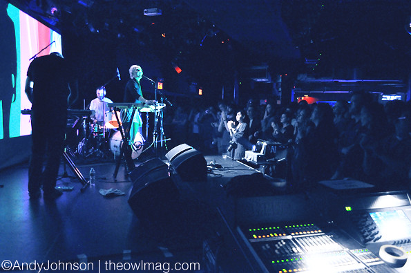 Ultraista @ Le Poisson Rouge, NYC 10/24/2012