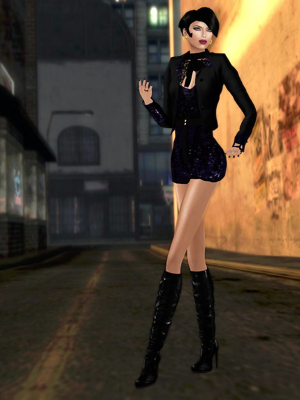 Solo Evane Glam Show Outfit #1a