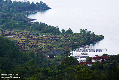 Danau Batur Lake Fishing Village