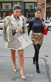 Kim Kardashian Cape Coat Celebrity Style Women's Fashion 3