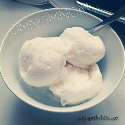 Lychee Frozen Yogurt