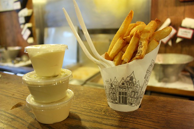 French fries and their dipping companions