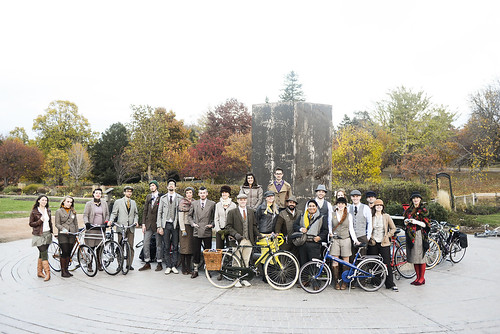 Tweed Ride Minneapolis 2012