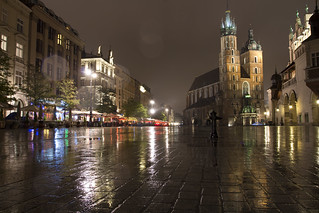 Hall - Sukiennice - Cracow / Kraków