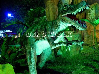 Amusement Park Animatronic Dinosaur shows outdoor