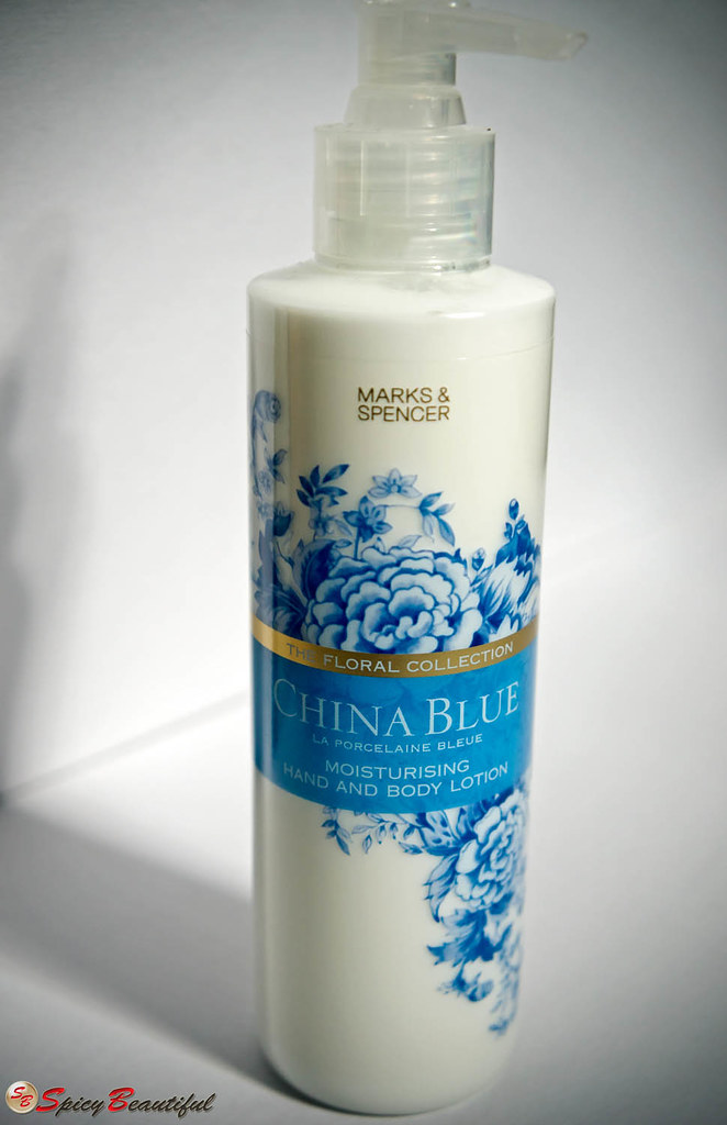 Spicy Beautiful China Blue Hand Amp Body Lotion By Marks