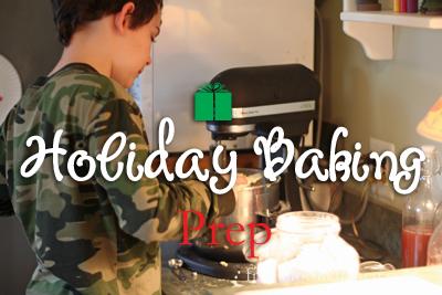 Holiday Baking Preparation: Pantry List