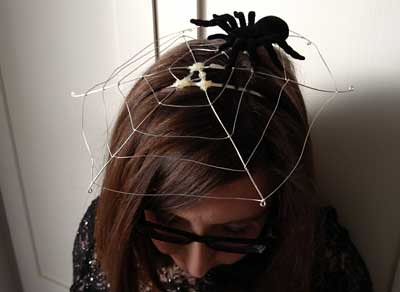 Spiderweb fascinator