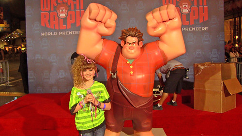 12-1029 Wreck-It Ralph Premiere-Piper with Wreck-It Ralph 3