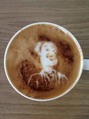 Today's latte, Hudson.