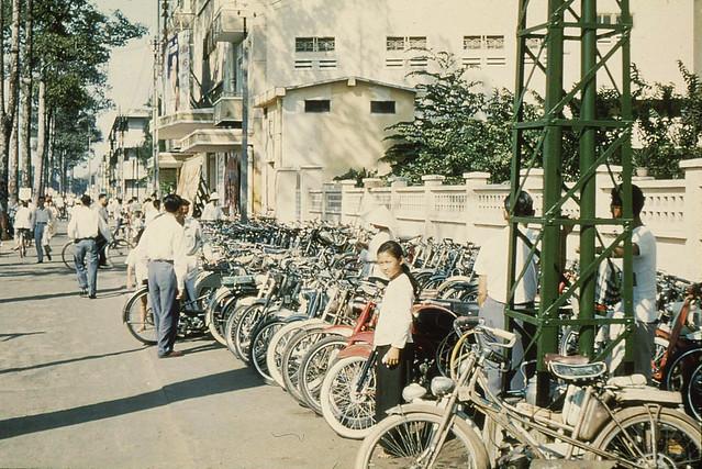 Saigon 1956 - rạp cinéma Đại Nam đường Trần Hưng Đạo