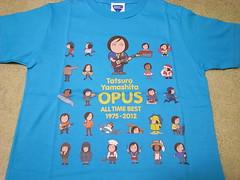 OPUS タツロー君Tシャツ。