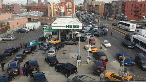 gas-shortage-brooklyn-Hurricane-Sandy