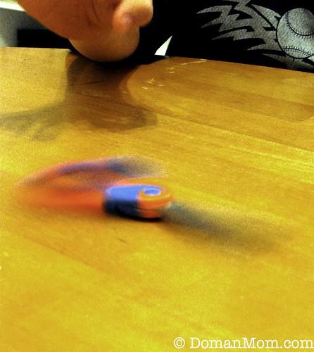 Rotation Around a Center Point: Math Vocabulary with Scissor Play