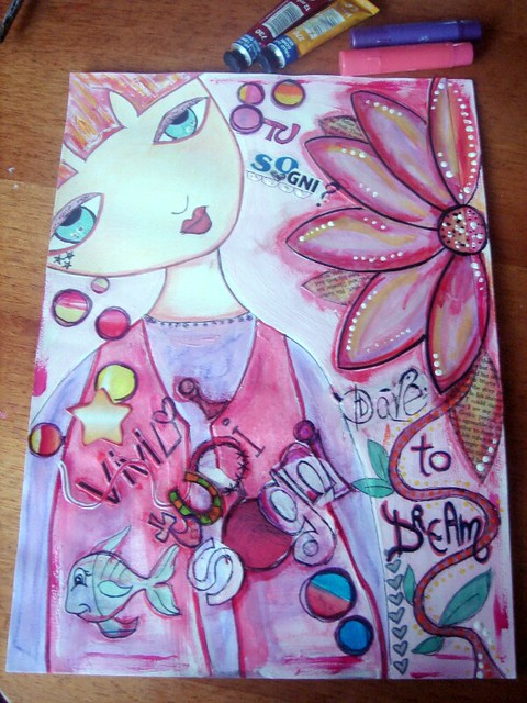 dolly 1 mixed media 1