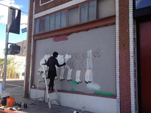 Amanda Marie Mural in Venice